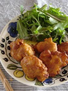 鶏の唐揚げ・味噌味。