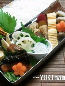 〜ぶりの照り焼き(作りおき)のお弁当〜