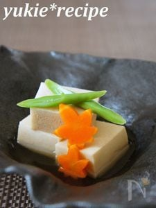 【基本のレシピ】高野豆腐の煮物