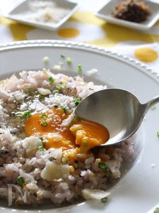 贅沢パルミジャーノの雑穀ライスエッグ