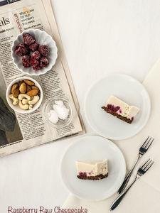 ラズベリーローチーズケーキ