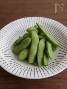 甘さを引き出す枝豆の茹で方