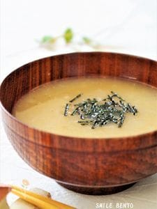 長芋トロロのお味噌汁