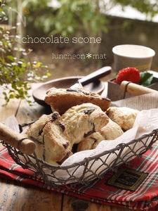 チョコスコーン簡単おうちカフェ*HM使用