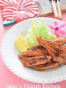 フリフリチキン☆ハワイの鶏の炭火焼き アメリカ料理