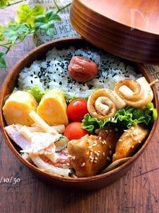 *お弁当のおかず・簡単・照り焼きチキン