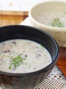 むくみ&便秘解消 優しいほろほろ小豆ミルクスープ