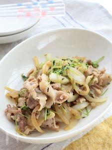 豚肉のクミンシード炒め