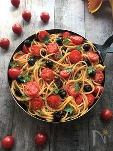 本場のお味!フレッシュトマトたっぷりプッタネスカ