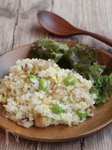 ねぎ塩豚バラ炒飯