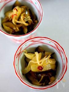 胡瓜の寿司酢炒め