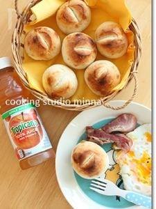 【楽パン♪】トースターで焼ける丸パン!