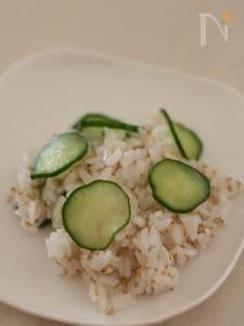 きゅうりとシラスの簡単混ぜ寿司