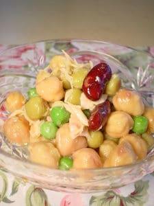 ツナとミックスビーンズの簡単サラダ