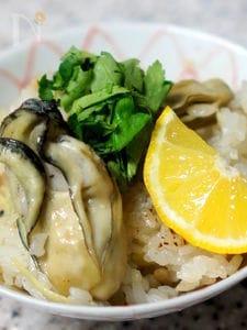 もち米入り牡蠣ご飯