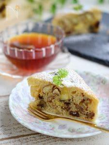 さつま芋とバナナのバターケーキ