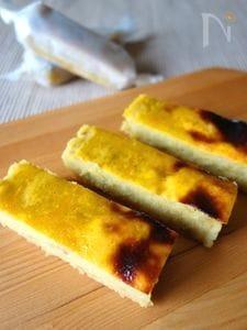 オーブントースターで☆スイートポテトバー