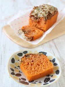 トマトと玉ねぎのブレッドケーキ