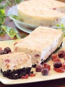 フルーツぎっしりチーズアイス