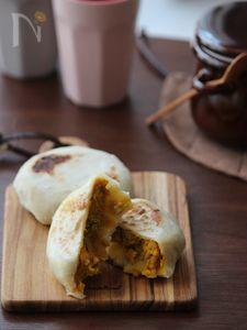 かぼちゃの肉味噌おやき