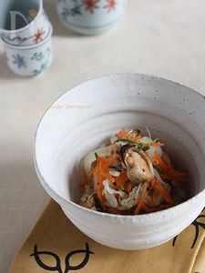 ムール貝としゃきしゃき野菜のマリネ