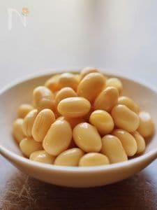 フライパンで約1時間★大豆の水煮
