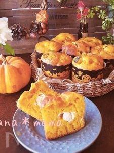 HMでかぼちゃとクリームチーズのマフィン♪