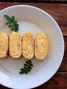 チーズ入り卵焼き。