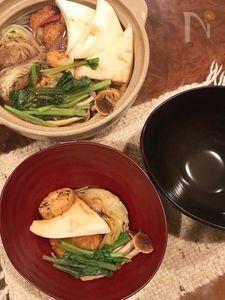 甘辛でじっくり温まる、甜麺醤の味噌おでん。 最後は雑炊で