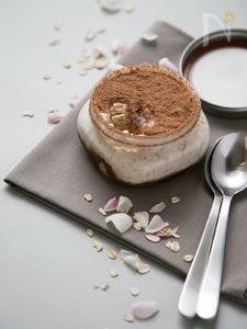 バニラコーヒーのオーバーナイト・オートミール