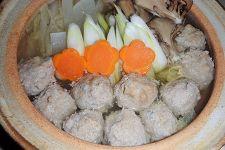れんこん肉団子の鍋