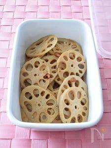 レンコンの甘辛炒め 作り置きレシピ お弁当&おつまみ
