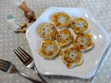 レンコンのチーズガレット
