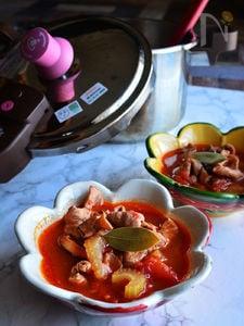 寒い日は・・・モツッパ!! 高圧力鍋で超簡単レシピ
