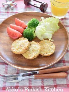 ワンプレートブランチ♡カレー風味の『ツナじゃが』焼きetc.