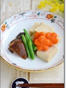 高野豆腐のやさしい含め煮【作りおき】