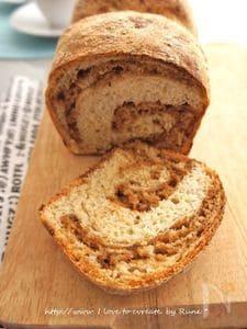 プルーンピューレオカラ入りふんわり食パン
