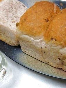 紅麹・甘納豆入りちぎり食パン♪