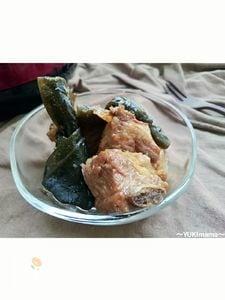 お弁当に〜お婆のほろほろソーキ(スペアリブ煮込み)〜