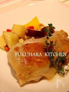 《低温調理で》鶏のやわらかハーブコンフィ