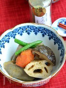 がごめ昆布粉入り根菜の煮物【作り置き】