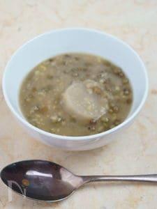 緑豆と大根のスープ