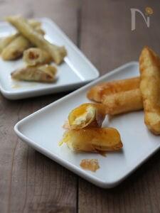チーズのスプリングロール2種