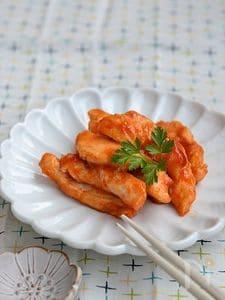 鶏むね肉のケチャップ炒め【作りおき】