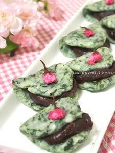 春ですね♪摘んで来たヨモギde草餅