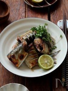 秋刀魚のみりん漬け。