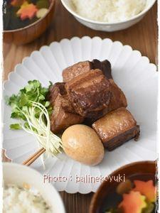 【あなわた】圧力鍋で作る!赤ワインとりんごジャムの豚の角煮