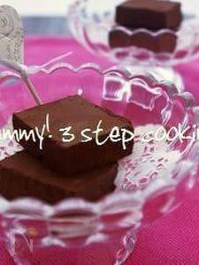 香りが素敵♪口どけなめらかな、柚子入り生チョコレート