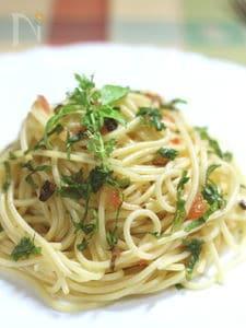 トマトの塩漬け調味料 「そるとまと」でペペロンチーノ