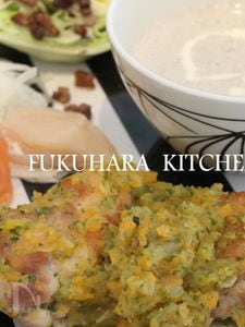鶏のミルポワ煮